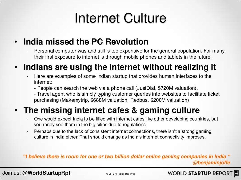 Internet Culture • India missed