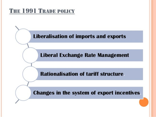 FTP is the new name for the earlier EXIM policy. 31st august 2004 - To double our % share of global merchandise trade with...