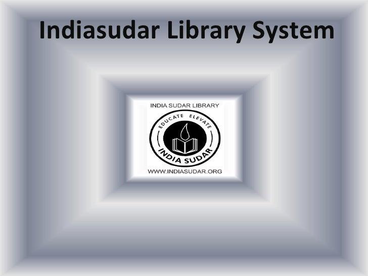Indiasudar Library System