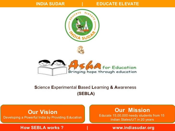 Our Vision Developing a Powerful India by Providing Education Our  Mission Educate 15,00,000 needy students from 15  India...