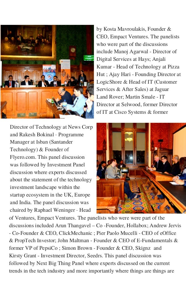 Director of Technology at News Corp and Rakesh Bokinal - Programme Manager at Isban (Santander Technology) & Founder of Fl...