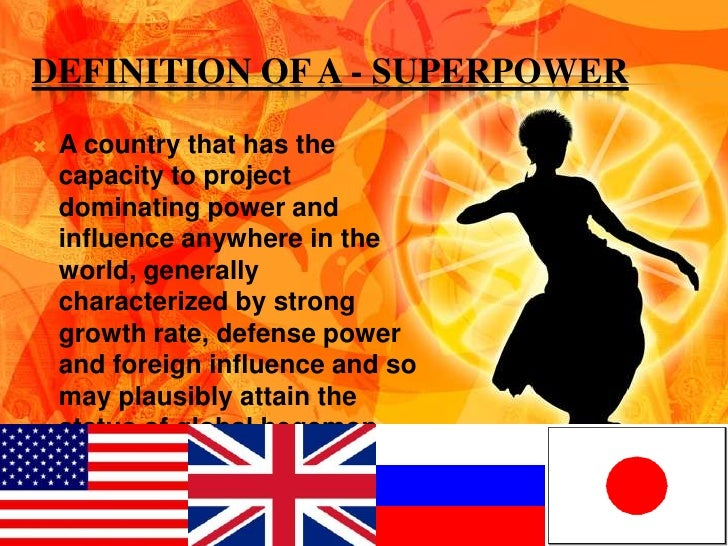 can britain become a superpower again