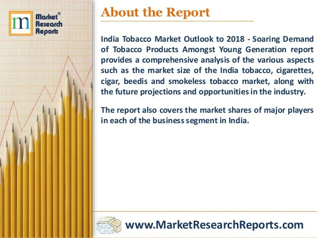 tobacco industry demand and supply Tool 3 demand analysis economic analysis of tobacco demand nick wilkins, ayda yurekli, and teh-wei hu draft users : please provide feedback and comments to.
