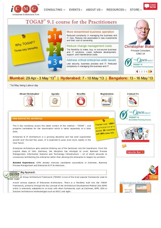 Mumbai: 29 Apr - 3 May 13*   Hyderabad: 7 - 10 May 13   Bangalore: 13 - 16 May 13*1st May being Labour dayAbout Christophe...