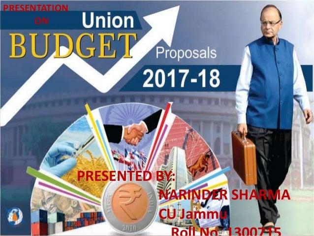 PRESENTED BY: NARINDER SHARMA CU Jammu PRESENTATION ON