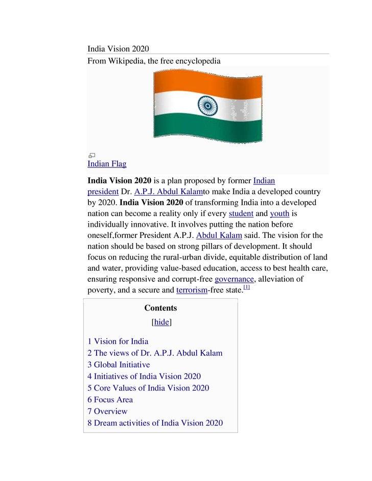 Essay future vision democracy in india