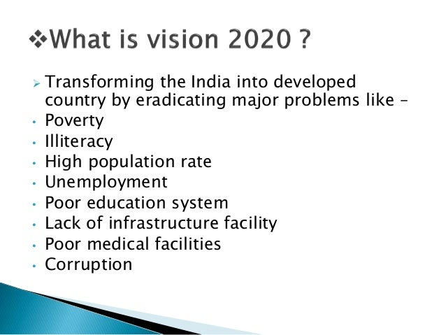 my vision of india in 2020 India 2020 has 1,733 ratings and 42 reviews riku said: vision document #14568934this reads too much like a bureaucratic/corporate vision documentit.