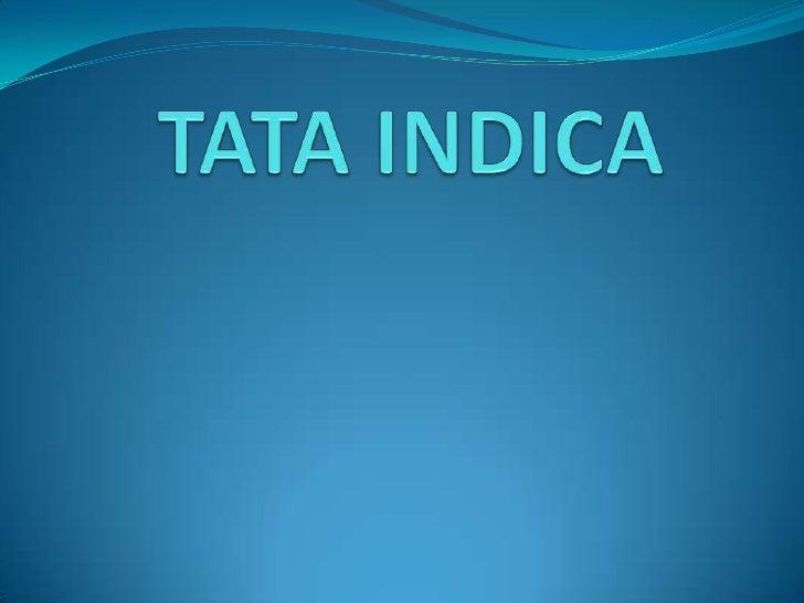 TATA INDICA<br />