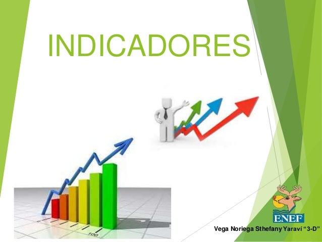 "INDICADORES  Vega Noriega Sthefany Yaraví ""3-D"""