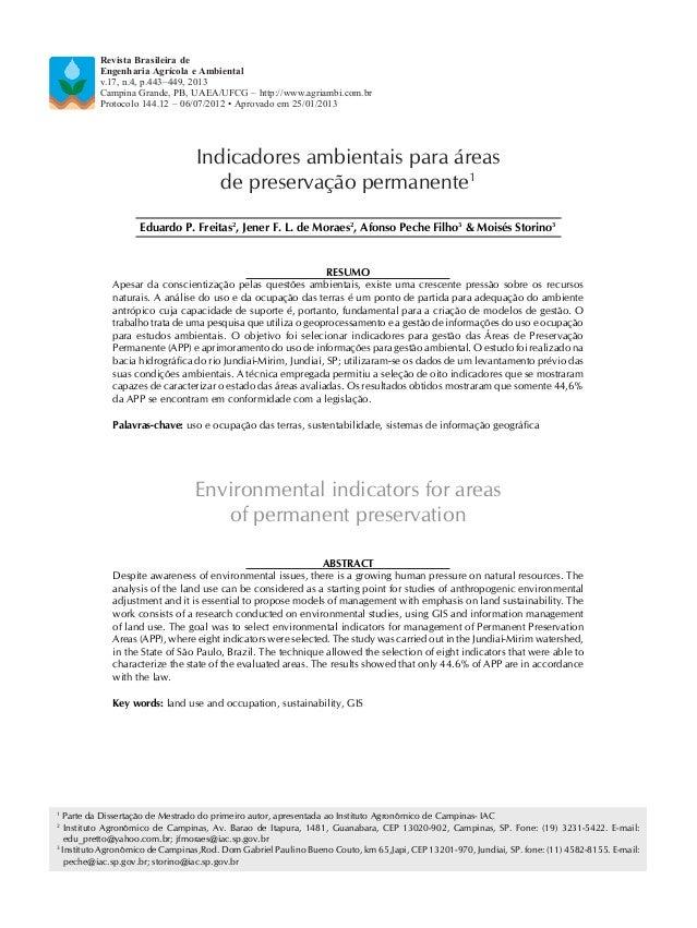 1 Parte da Dissertação de Mestrado do primeiro autor, apresentada ao Instituto Agronômico de Campinas- IAC 2 Instituto Agr...