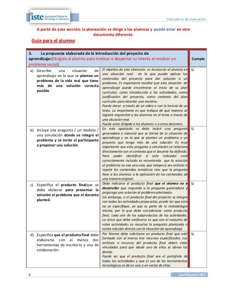 Indicadores de evaluación      A partir de esta sección, la planeación se dirige a los alumnos y puede estar en otro      ...