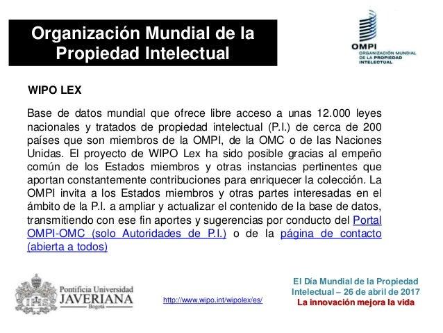 NORMATIVIDAD SOBRE DERECHOS DE AUTOR Y PROPIEDAD INTELECTUAL EN COLOMBIA Constitución Política de Colombia. Artículo 61 El...