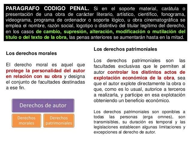 DERECHOS PATRIMONIALES Características a) La independencia de los derechos. b) En nuestro régimen legal los derechos patri...