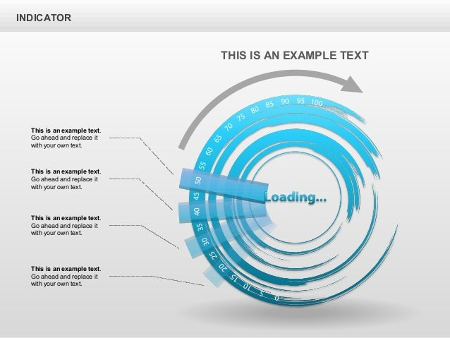 INDICATOR This is an example text. Go ahead and replace it with your own text. This is an example text. Go ahead and repla...