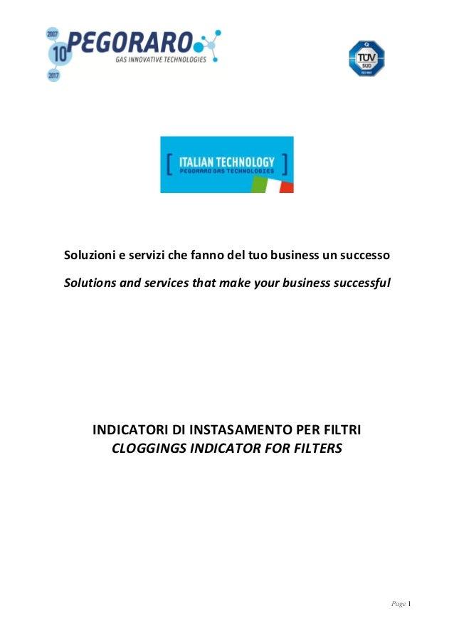 Page 1 Soluzioni e servizi che fanno del tuo business un successo Solutions and services that make your business successfu...