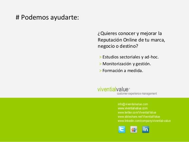 Índice de Reputación Online de Hotelería en destinos Urbanos de LATAM 2012