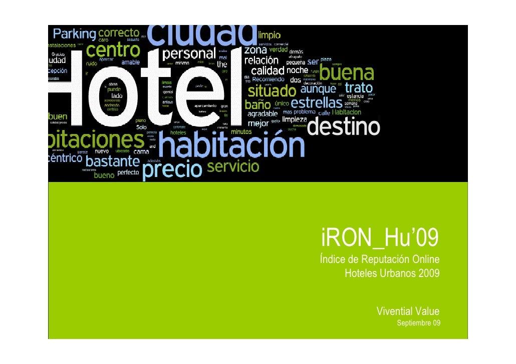 iRON_Hu'09                                                       Índice de Reputación Online                              ...
