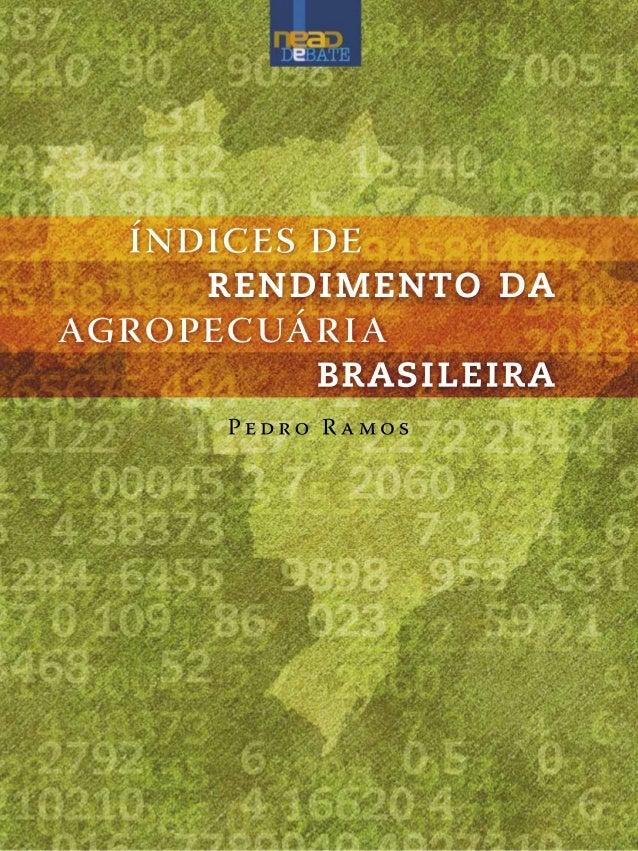 Uma visão panorâmica sobre o tema da propriedade fundiária e da reforma agráriamda/neadBrasília, 2005Pedro R a mosíndices ...