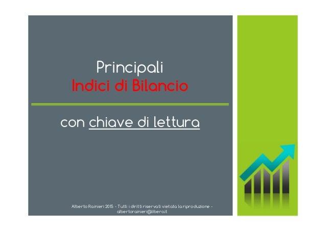 Alberto Rainieri 2015 - Tutti i diritti riservati vietata la riproduzione - albertorainieri@libero.it Principali Indici di...