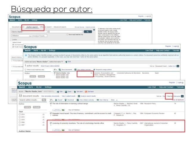 Ejemplo: ranking de  revistas españolas de  economía