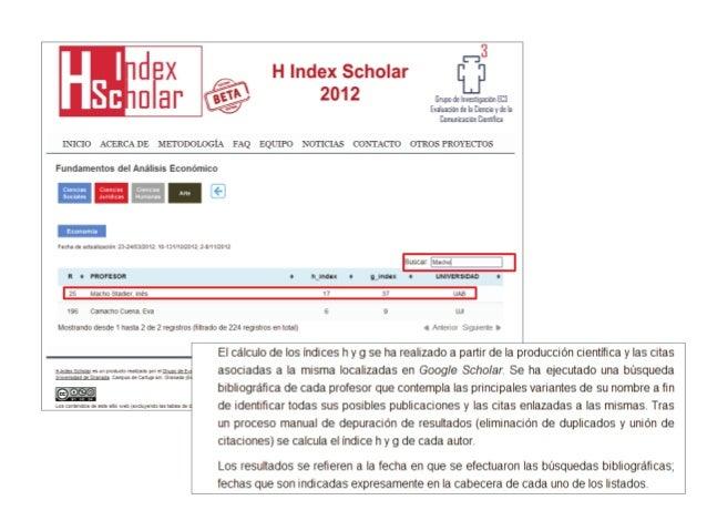 Indicadores de impacto alternativos  (Torres-Salinas, 2012)