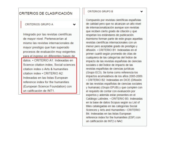 Índices de Citas y Factor de Impacto e Indicios de Calidad en Publicaciones Académicas para procesos de Acreditación y Sex...