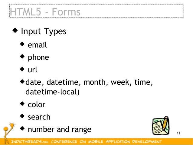 mobile application development using html5