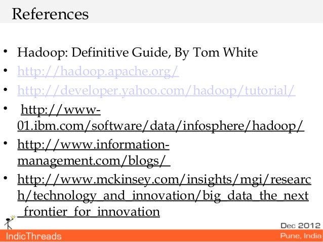 Tom White: Hadoop: the Definitive Guide (ePUB) - ebook ...