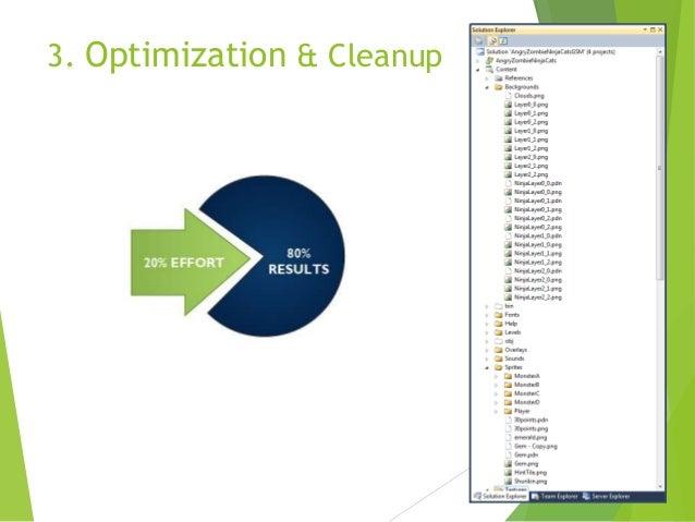 3. Optimization & Cleanup