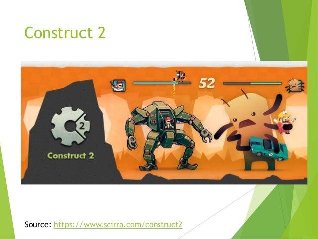 Construct 2  Source: https://www.scirra.com/construct2