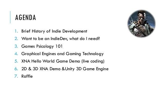 Indie Game Development Intro Slide 3
