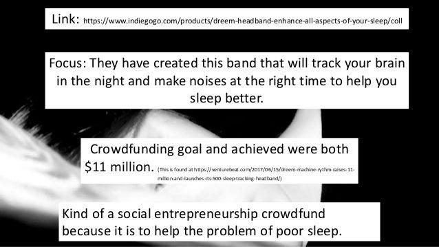 Indiegogo write up analysis - skye mackintosh
