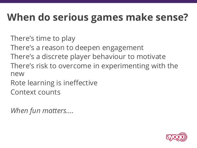 """""""The best games have at least 3 out of 4 keys."""" Four Keys to Fun • Oxytocin • Amusement • Moving together, gestures • Teas..."""