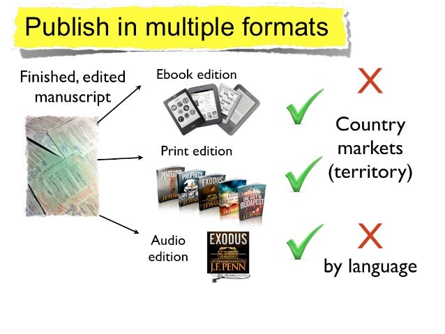 http://www.thecreativepenn.com/2014/01/07/know-your-rights/ Publish in multiple formats