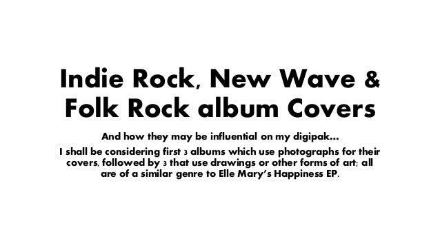 Indie rock & folk rock album covers