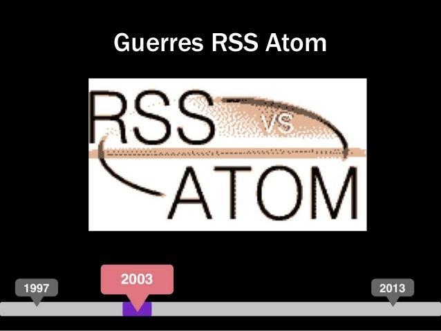 Guerres RSS Atom