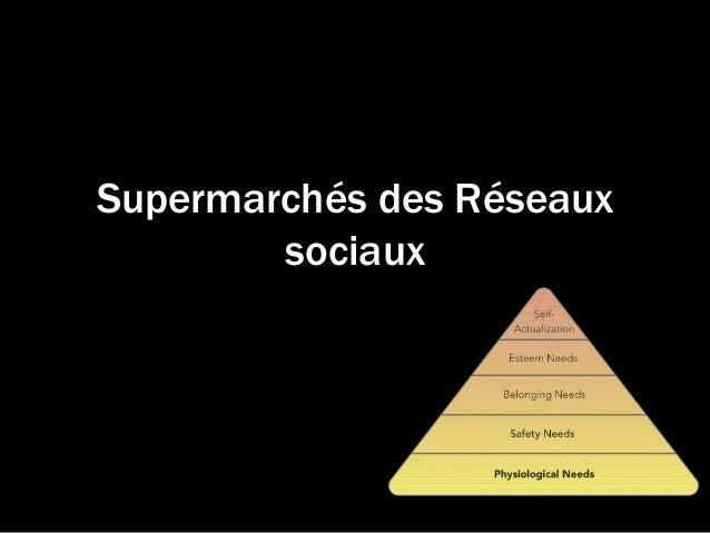 Supermarchés des Réseaux sociaux