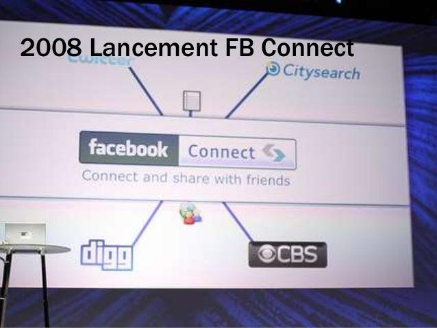 2008 Lancement FB Connect