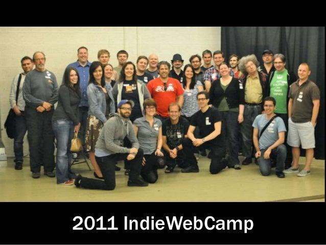2011 IndieWebCamp