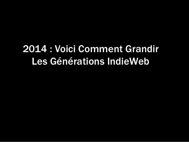 Indie web tonictuesday-2014-07-22