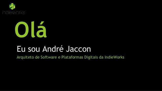 Divulgando meu serviço pelo marketing digital - André Jaccon Slide 2