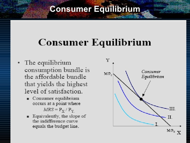 show that equilibrium condition for consumer equilibrium under both cardinal and ordinal utility the Unit 5 consumer equilibrium: cardinal and ordinal introduction cardinal utility approach to consumer consumer's equilibrium condition in.