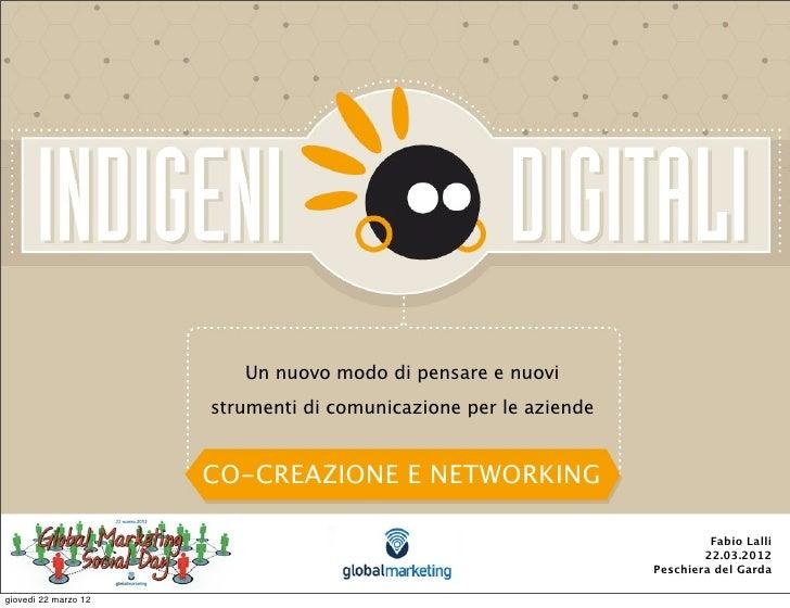 Un nuovo modo di pensare e nuovi                      strumenti di comunicazione per le aziende                      CO-CR...