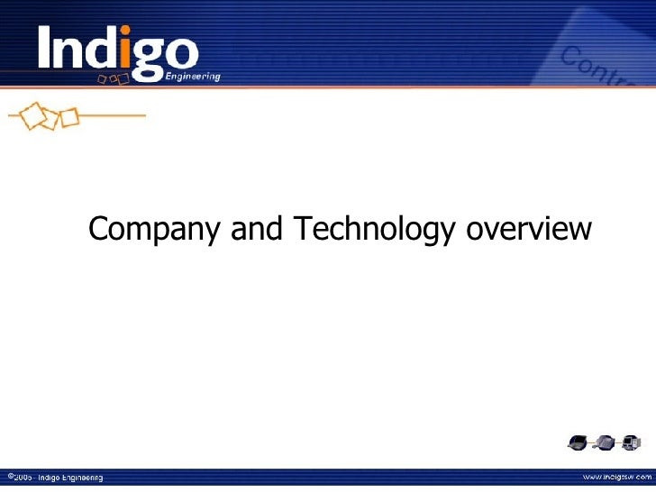 Company and Technology overview