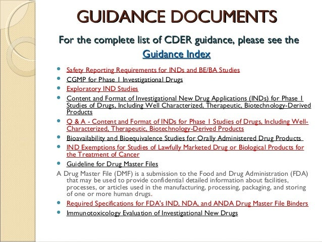 Ind (investigational new drug application) and nda