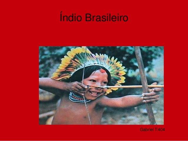 Gabriel T:404 Índio Brasileiro