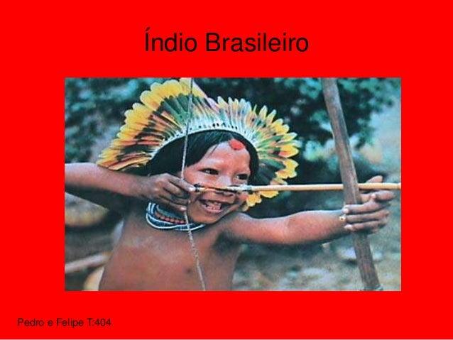 Pedro e Felipe T:404 Índio Brasileiro