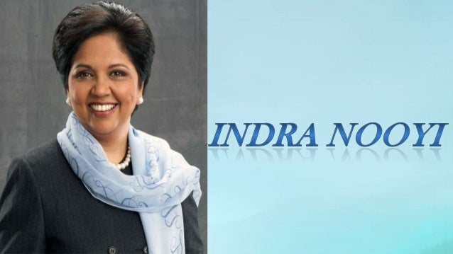 Name            Indra Krishnamurthy NooyNick name       Iron womanDate of Birth   28th October 1955Birth Place     Chennai...