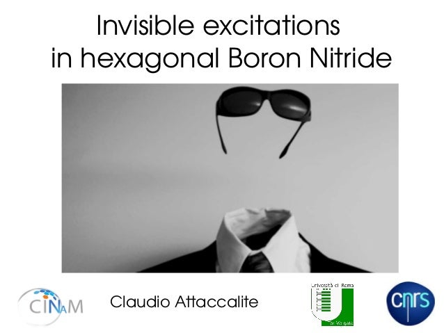 Invisible excitations  in hexagonal Boron Nitride Claudio Attaccalite
