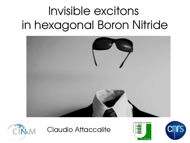 Invisible excitons  in hexagonal Boron Nitride Claudio Attaccalite